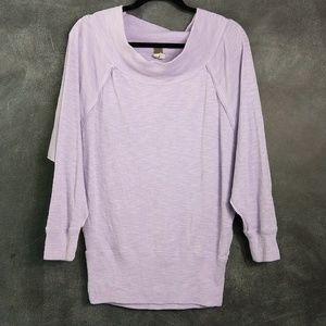 WE THE FREE | Cowl Neck Dolman Sleeve Sweater Sz S